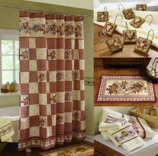 Shower Curtains bathroom shower curtains and rugs : country shower curtains for the bathroom - Bathroom Ideas