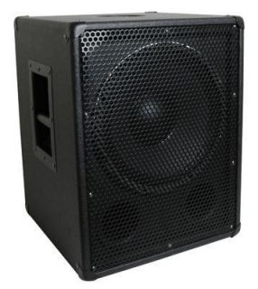Watt 15 Cast Frame Pro DJ PA Subwoofer with Cabinet and Crossover NEW