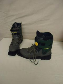 Trak Cross Country Ski Boots 3 Pin XC Telemark Size 10