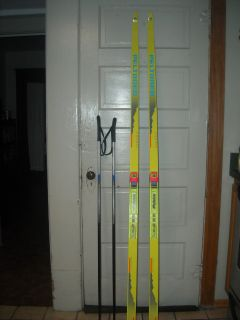 CROSS COUNTRY SKIS PELTONEN 195 NNN QUASAR GRAPHITE SKATING CLASSIC