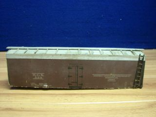 O SCALE KIT BUILT HERSEY HCX WOOD BOX CAR 418551