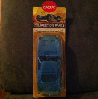 Cox Competition 1 24 Scale Ford GT Plastic Body Kit