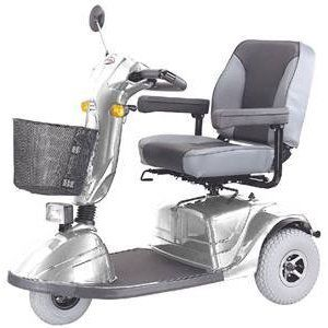 CTM HS 730 3 Wheel Road Class Electric Mobility Scooter Silver