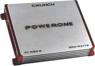 New Crunch P110502 1000W 2 CH Car Audio Amplifier Amp 2 Channel P1
