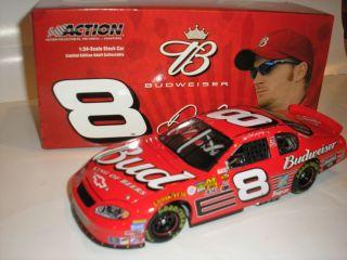 DALE EARNHARDT JR. NASCAR DIECAST #8 BUDWEISER CHEVY CAR MONTE CARLO