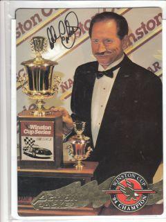 Dale Earnhardt SR Autographed 94 AP Winston Cup Champion EX Condition