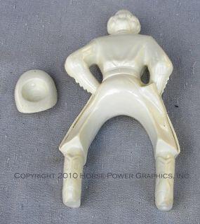 Steven Horse Rider Series Plastic Unpainted Dale Evans Hat Set