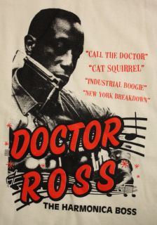 Blues Rockabilly Doctor Ross The Harmonica Boss T Shirt High Quality