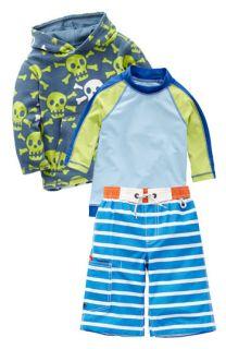 Mini Boden Surf Shirt, Hoodie & Surf Shorts (Little Boys & Big Boys)