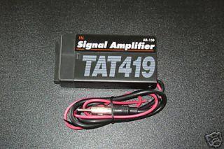 New Car Radio FM Signal Amplifier Booster Reception