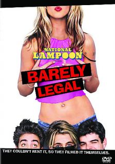 Naional Lampoons Barely Legal (DVD, 2006)