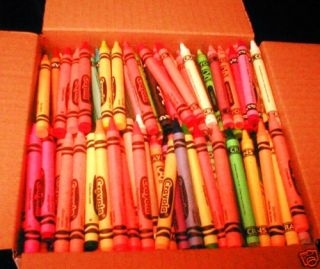 HtTr: Crayons lot 8# Asst brands Crayola CraZart Craft Penway Rose Art