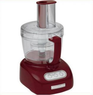 KitchenAid 12 Cup Food Processor KFP750GC Glos Dark Red 050946967295