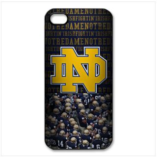 Notre Dame Fighting Irish New iPhone 5 Case Black Plastic Hard Cover