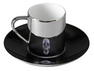 DAMIEN HIRST For the Love of God Diamond Skull Cup & Saucer Set 2012