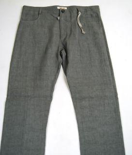 Damir DOMA Gray Linen Dress Pants 52
