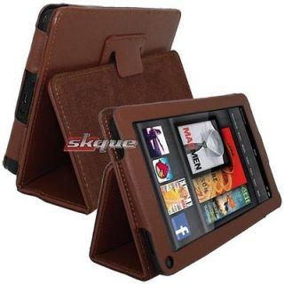 Protective Leather Folio Case Cover Stand For  Kindle Fire 7