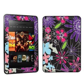 Kindle Fire HD 7 Case Decal Cover Skin Vinyl Sticker Flower