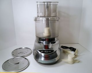 CUISINART PREP 9 9 CUP PREMIER FOOD PROCESSOR STAINLESS STEEL FINISH