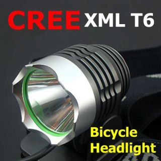 CREE XML T6 LED Bicycle bike HeadLight Lamp Flashlight Light Headlamp