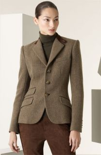 Ralph Lauren Black Label Daryn Tweed Hacking Jacket