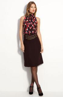 Milly Poppy Print Silk Blouse