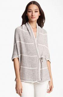 Fabiana Filippi Stripe Crochet Cardigan
