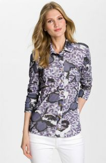 Tory Burch Florence Silk Shirt