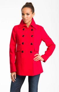 DKNY Stacey Double Breasted Coat