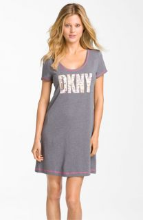 DKNY Logo Print Sleep Shirt