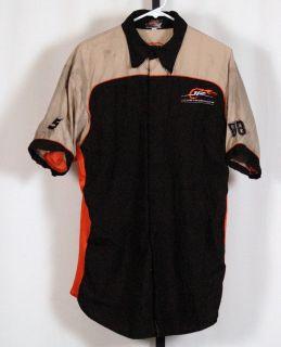 Dale Earnhardt Jr NASCAR Race Used Pit Crew Shirt SHOP SHIRT L