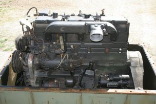 Cummins NHC 250 6 Cylinder Diesel Engine Core for Rebuilt or Good