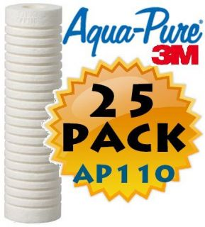 25 Original Cuno Aqua Pure AP110 Water Sediment Filter