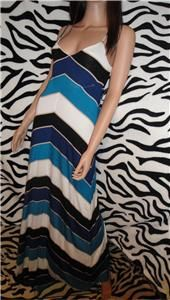 BEBE DALIAH STRIPED MAXI DRESS***SIZE SMALL***$98 NEW WITH TAGS
