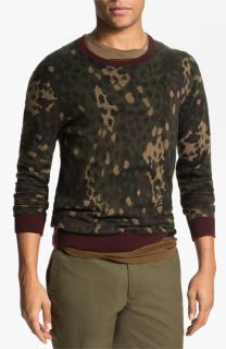 MARC BY MARC JACOBS Camouflage Crewneck Sweater