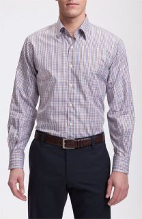 Peter Millar Pop Plaid Sport Shirt (Tall)