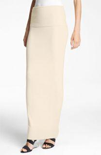 Donna Karan Collection First Layer Cashmere Blend Maxi Skirt