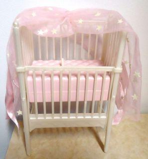 Barbie Krissy Baby Doll Crib Lullaby Crissy Mattel 2000