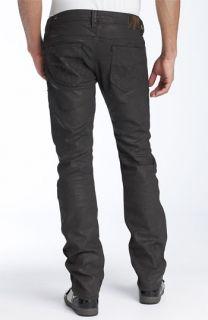 DIESEL® Thanaz Slim Leg Jeans (73P Metal Grey Wash)
