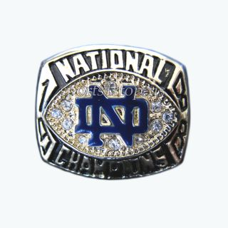 Notre Dame Fighting Irish 1998 NCAA Championship Ring