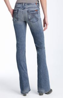 7 For All Mankind® Flynt Bootcut Stretch Jeans (Tahiti Wash)