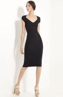 Donna Karan Collection Cold Shoulder Jersey Dress