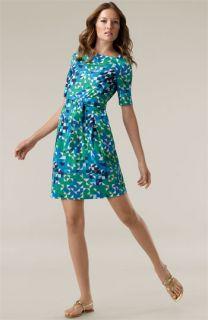 Tory Burch Alena Stretch Poplin Dress