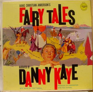 danny kaye hans christian anderson fairy tales label golden records