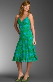 Muse Paisley Print Chiffon Dress