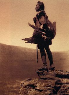 The Eagle Catcher Edward s Curtis Native American Art