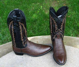 Dan Post Cowboy Western Boots Mens 12D Nice
