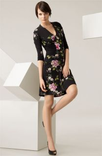 Roberto Cavalli Floral Print Jersey Dress