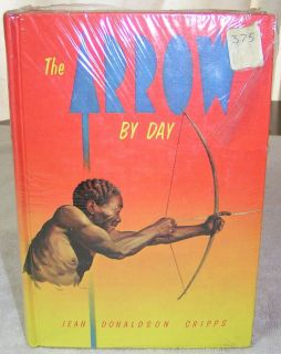 Vintage Book The Arrow By Day Jean Cripps Seventh Day Adventist SDA HC