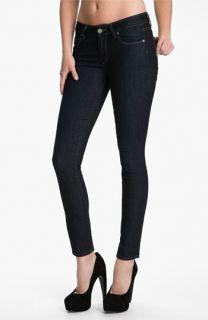 Paige Verdugo Stretch Skinny Jeans (Dark Blue)